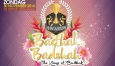 Uitreiking Baithak Gana Badsah Awards in Den Haag